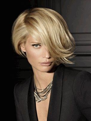 стрижка,блестящие волосы