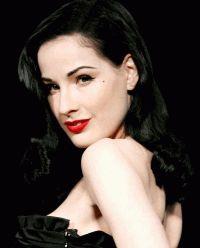 Дита фон Тиз,макияж,секреты красоты