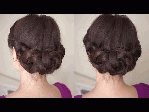 прически,волосы,весна 2012