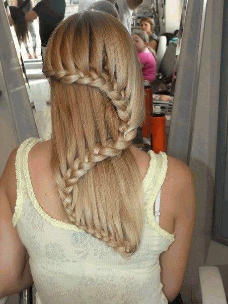 прически,волосы,коса,советы