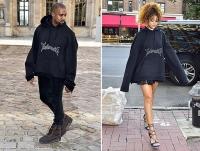 модная битва фото, модная битва звезды, одинаковые наряды звезд фото
