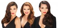 Ким Кардашьян, лак для волос, Kardashian Beauty, Хлои Кардашьян, Кортни Кардашьян, Ким Кардашьян волосы