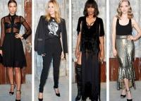 Givenchy весна-лето 2015 фото, Givenchy весна-лето 2015 коллекция, Givenchy весна-лето 2015 обзор, Неделя моды в Нью-Йорке весна-лето 2015, Givenchy весна-лето 2015 гости показа фото