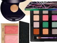 новинки косметики 2015, палетка Urban Decay, румяна Tarte Bling, тональная основа Estеe Lauder Double Wear Makeup To Go