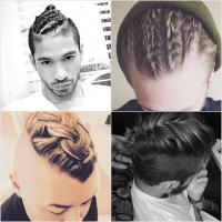 косы, прически для мужчин, плетение