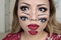 Хелоуин, Хеллоуин, видеоурок, макияж на Хеллоуин