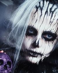 MAC косметика, хэллоуин, хеллоуин, макияж на хэллоуин, макияж на хеллоуин