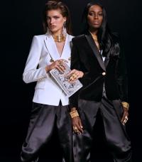 H&M Women, H&M, BALMAIN, коллаборация BALMAIN и H&M, лукбук H&M