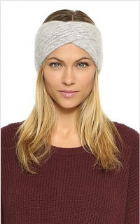 тептая повязка, повязка для волос, прически с повязкой, повязка пучок, как носить повязку, повязка для зимы, текстильная повязка
