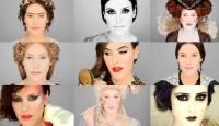 эволюция макияжа, тренды макияжа, история макияжа, макияж история, лиза элдридж видео 2015