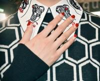 красный маникюр,красные лаки для ногтей, модный маникюр 2015, маникюр с красным лаком фото