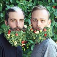 бороды, бороды в цветах, цветы и бороды, украшение бород, украшают бороды, бороды фото