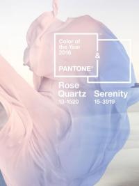 Pantone, Pantone цвет года, Pantone 2016, Pantone цвет 2016, Rose Quartz и Serenity, Pantone Rose Quartz и Serenity