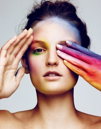 бьюти-образ, Джулия Флеминг, Vogue Japan, Джулия Флеминг Vogue Japan, Джулия Флеминг фото
