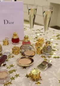 Dior State of Gold обзор, Dior рождественская коллекция 2015, рождественские коллекции макияжа 2015, Dior State of Gold свотчи