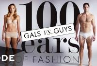 эволюция моды видео, эволюция моды за 100 лет видео, эволюция женской моды видео, эволюция мужской моды