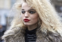 Неделя высокой моды весна 2016, уличная мода Париж 2016, street style Париж 2016 фото, неделя высокой моды street style фото, street style моделей фото