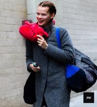 Ирина Кравченко фото 2016, неделя моды в Нью-Йорке осень-зима 2016 фото, ирина карвченко модель, ирина карвченко показы фото, ирина карвченко биография