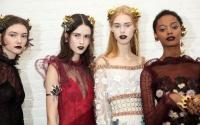 Rodarte,макияж осень-зима 2016,тренды,неделя моды в Нью-Йорке