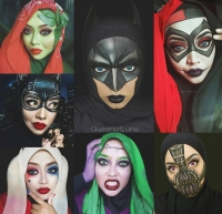 макияж трансформации фото, трансформации макияж фото, сказочные героини макияж фото