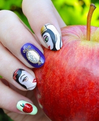 Disney, Disney нейл-арт, Disney ногти, дисней нейл-арт, дисней ногти, нейл-арт фото, дизайн ногтей фото