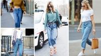 джинсы,c чем носить,кристина якимец,mom jeans