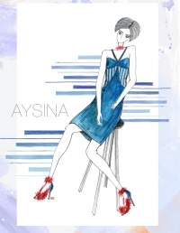 Aysina,ukrainian fashion week,мода осень-зима 2016