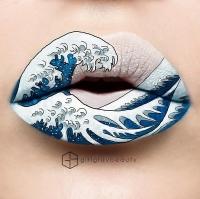 лип-арт, рисунки на губах, красивый макияж, лип-арт фото, рисунки на губах фото, красивый макияж фото