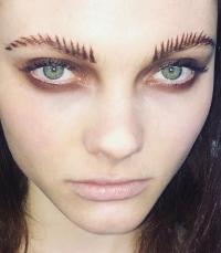 брови, брови 2016, брови тренд, брови форма, брови хной, косметика для бровей