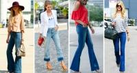 с чем носить джинсы-клеш фото, джинсы-клеш фото 2016, джинсы-клеш с чем носить советы, джинсы-клеш сочетание фото