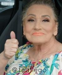 чудеса макияжа, чудеса грима, визажист, Тэа Флего, Тэа Флего ыизажист, Тэа Флего бабушка, Тэа Флего инстаграм, Тэа Флего фото, бабушка макияж, макияж бабушка