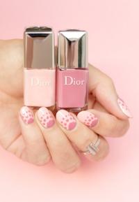 Dior, Dior маникюр, Dior лаки, м маникюр фото, Dior лаки фото, Dior лаки 2016, Dior маникюр 2016, Dior Polka Dots