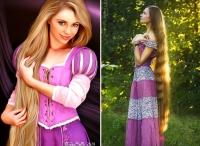 живая рапунцель фото, самые длинные волосы фото, девушка рапунцель фото, девушка с самыми длинными волосами фото, дашик губанова волосы фото