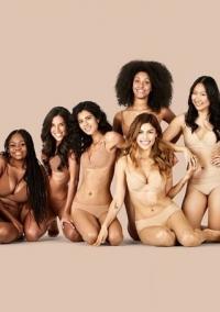 телесное белье, нюдовое белье, бежевое белье, бодипозитив, белье для всех цветов кожи, Naja, Nude for All