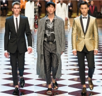 Dolce and Gabbana весна 2017, Dolce & Gabbana весна 2017, Dolce & Gabbana показ, Dolce & Gabbana мужская коллекция, Dolce & Gabbana новая коллекция