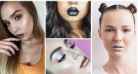 металлик на губах фото, металлическая помада, металлик макияж фото, металлизированная помада, помада с металлик отливом фото