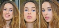 яркий летний макияж фото, летний макияж фото 2016, sun stripping макияж фото, макияж с синими тенями фото, модный макияж лето 2016 фото