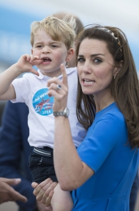 кейт миддлтон и принц Джордж фото 2016, принц Джордж фото 2016, принц джордж сколько лет, кейт миддлтон сын фото
