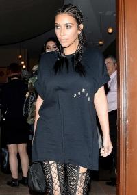 Ким Кардашьян фото, Ким Кардашьян образ дня