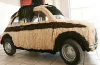 автомобиль, автомобиль волосы, автомобиль из волос, автомобиль книга рекордов