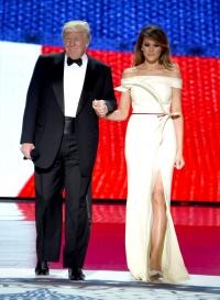 Мелания Трамп, Мелания Трамп фото, Мелания Трамп инаугурация, Мелания Трамп стиль, Мелания Трамп платье