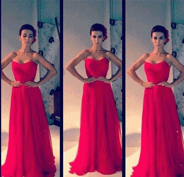 анна седокова,свадебное платье