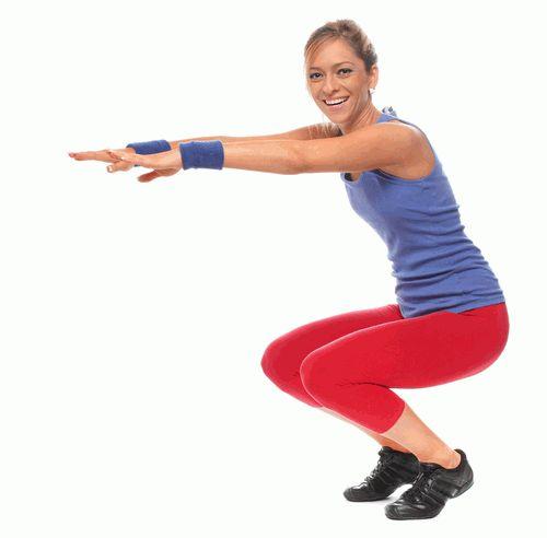 упражнения,попа,похудение