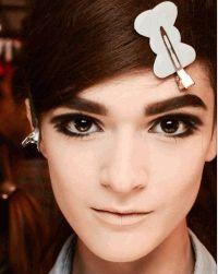 макияж,весна 2013,тренды,прически