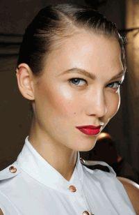 макияж,губы,красная помада