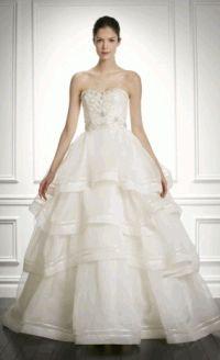 Carolina Herrera,свадебное платье