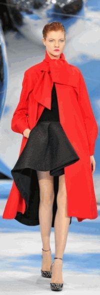 Christian Dior,осень-зима 2013,показ
