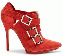 красный,мода,тренды