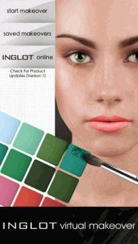Inglot,Apps,макияж
