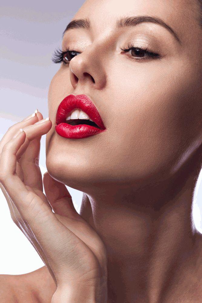 губы,увеличить губы